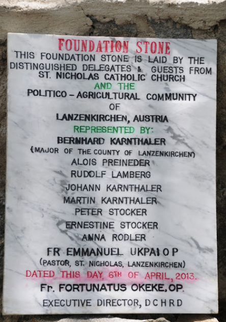 Foundation Stone